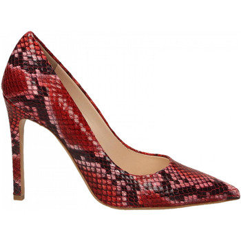 Chaussures Femme Escarpins Enzo Di Martino CAMOCIO TACCO CARIOCA rosso