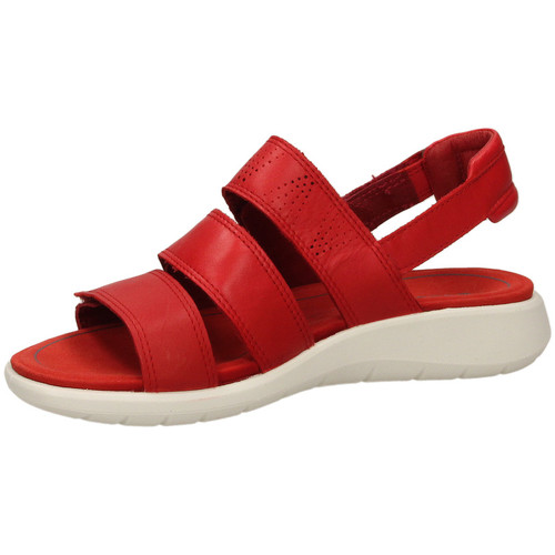 pieds Nu Tomat Chaussures Femme Sandales rosso 5 Ecco Soft Et I9WH2ED
