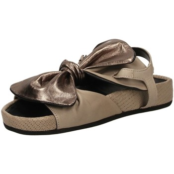 Chaussures Femme Sandales et Nu-pieds Fabbrica Dei Colli PLACE taupe-taupe