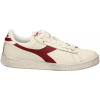 Chaussures Homme Baskets basses Diadora GAME L LOW WAXED c5147-bianco-rosso
