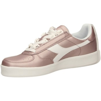 Chaussures Femme Baskets basses Diadora B.ELITE L METALLIC W rosra-rosa