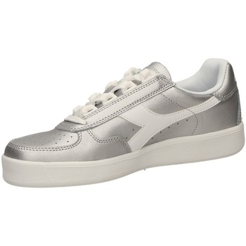 Chaussures Femme Baskets basses Diadora B.ELITE L METALLIC W argme-argento