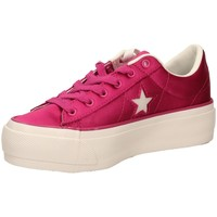 Chaussures Femme Baskets basses Converse ONE STAR PLATFORM OX vberw-fuxia
