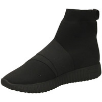 Chaussures Femme Baskets montantes Fessura DINGHY KNIT black-nero