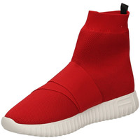 Chaussures Femme Baskets montantes Fessura DINGHY KNIT red-rosso