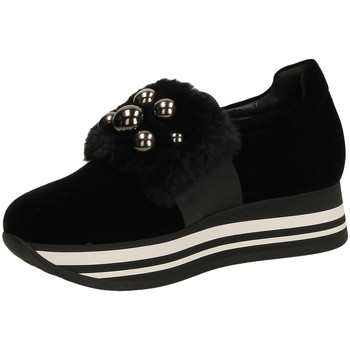Chaussures Femme Slip ons Jeannot  nero-nero