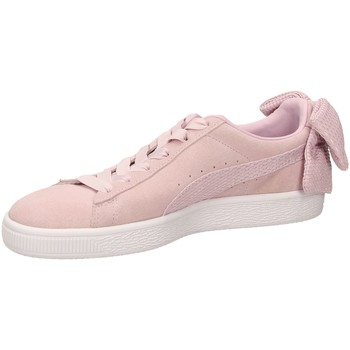 Chaussures Femme Baskets basses Puma SUEDE BOW UPRISING orchi-rosa