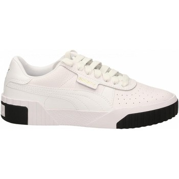 Chaussures Femme Baskets basses Puma CALI WN'S white-black