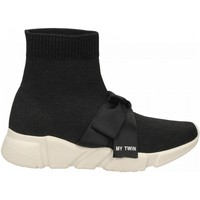 Chaussures Femme Baskets montantes Twin Set SNEAKERS 00006-nero
