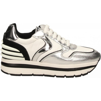 Chaussures Femme Baskets basses Voile Blanche MAY POWER argento-bianco-nero