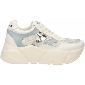 Chaussures Femme Baskets basses Voile Blanche MONSTER MESH bianco-argento