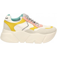 Chaussures Femme Baskets basses Voile Blanche CREEP bianco-giallo