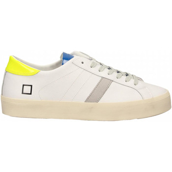 Chaussures Femme Baskets basses Date HILL DOUBLE FLUO white-yellow