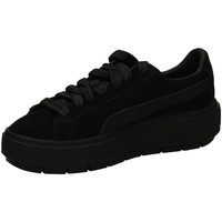 Chaussures Femme Fitness / Training Puma SUEDE PLAT.TRACE ANI black-nero