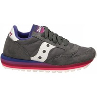 Chaussures Femme Baskets basses Saucony JAZZ O W RAINBOW charcoal-purple