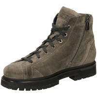 Chaussures Homme Boots Santoni POLAC.7 OCC+ZIP PEAC eag62-taupe