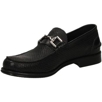 Chaussures Homme Mocassins Brecos OXFORD IKARO nero-nero