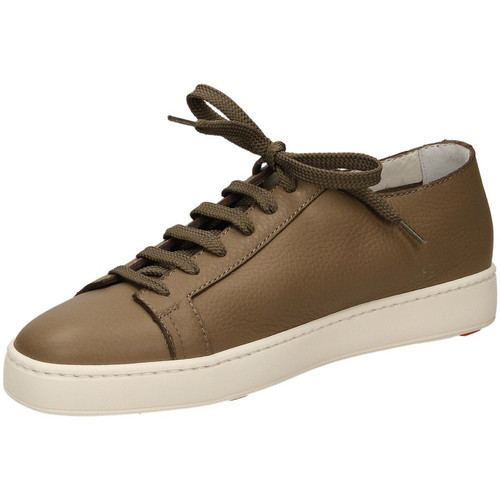 Chaussures Homme Baskets basses Santoni TENNIS 6F iam61-taupe