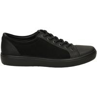 Chaussures Homme Baskets basses Ecco SOFT 7 MENS RUDO SPI black-nero