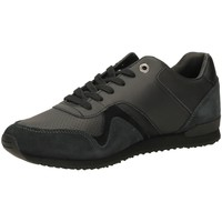 Chaussures Homme Baskets basses Tommy Hilfiger ICONIC LEATHER black-nero