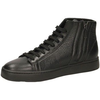 Chaussures Homme Baskets montantes Santoni POLAC.8F+T.LIS+IN AD ydn01-nero