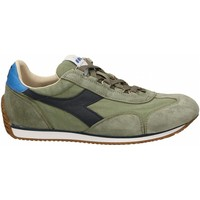 Chaussures Homme Baskets basses Diadora EQUIPE H CANVAS STONE WASH 70397-verde-chiaro
