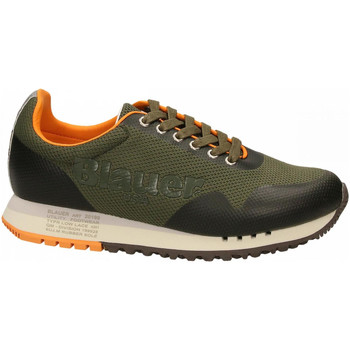 Chaussures Homme Baskets basses Blauer DENVER01 - MAN MESH RUNNING mil-military-green