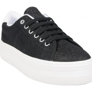 Chaussures Femme Baskets basses No Name Plato Sneaker NoirB Strass Noir