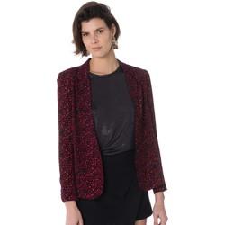 Vêtements Femme en 4 jours garantis La Petite Etoile MARINA LEOPARD ROUGE Rouge