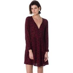 Vêtements Femme Robes courtes La Petite Etoile AUBELINE LEOPARD Rouge