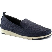 Chaussures Femme Mocassins Frau FRA-E19-51Z3-BL Blu