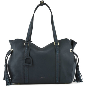 Sacs Femme Cabas / Sacs shopping Etrier Sac shopping Tradition cuir TRADITION 709-00EHER25 MARINE