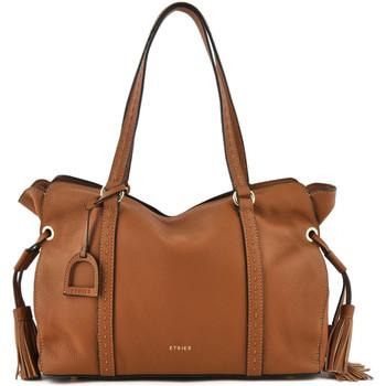 Sacs Femme Sacs porté épaule Etrier Sac shopping Tradition cuir TRADITION 709-00EHER25 CAMEL