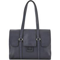 Sacs Femme Sacs porté épaule Etrier Sac Shopping Tradition cuir TRADITION 709-00EHER27 MARINE