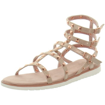Chaussures Femme Sandales et Nu-pieds Bugatti Sandales  cuir ref_45814 Rose Rose