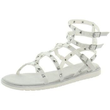 Chaussures Femme Sandales et Nu-pieds Bugatti Sandales  cuir ref_45815 Blanc Blanc