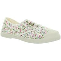 Chaussures Femme Tennis Natural World Baskets  ref_natural45810 505 Blanc Blanc