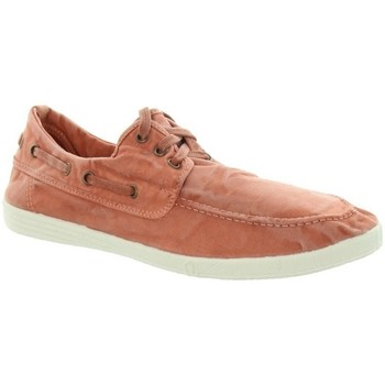 Chaussures Homme Chaussures bateau Natural World Bateau  ref_natural45813 618 Rouille Rouge