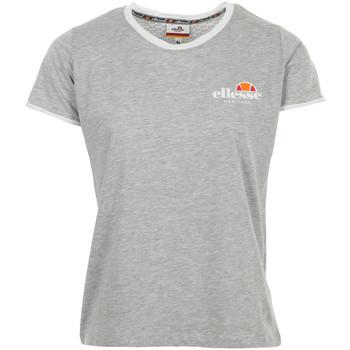 Vêtements Femme T-shirts manches courtes Ellesse T-Shirt Femme Col Rond Uni gris