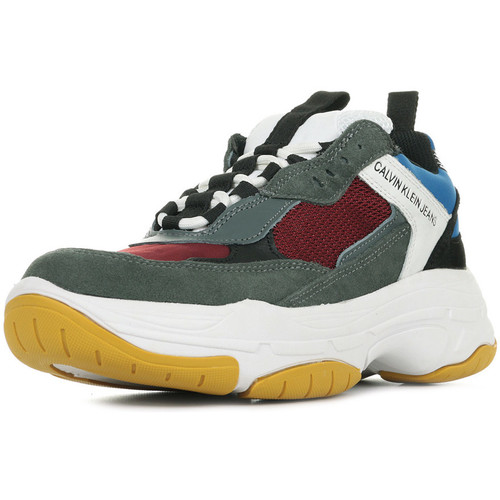 Klein Gris Maya Baskets Calvin Jeans Basses qVSMpzGLU