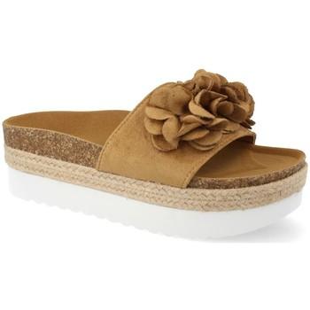 Chaussures Femme Espadrilles Ainy B8121 Camel
