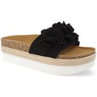 Chaussures Femme Espadrilles Ainy B8121 Negro