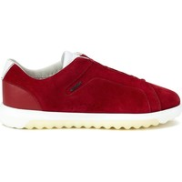 Chaussures Homme Baskets basses Geox Nexside Rouge
