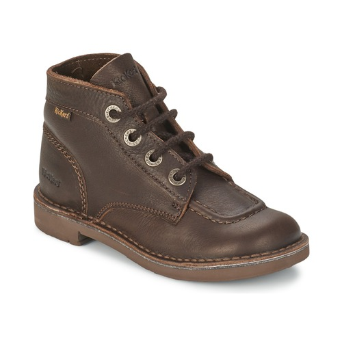Bottines / Boots Kickers KICK COL Brun 350x350