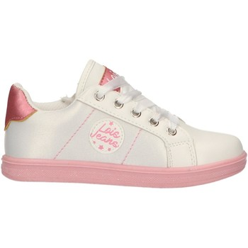 Chaussures Fille Baskets basses Lois 46093 Blanco
