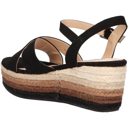 50740 C35442 ANTIL NEGRO  MTNG  sandales et nu-pieds  femme  negro