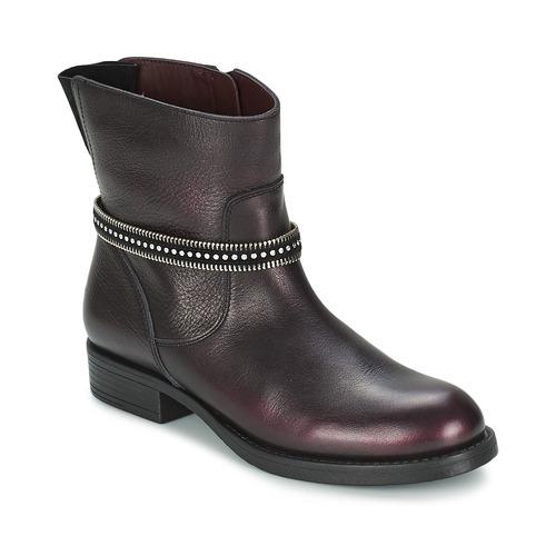 Chaussures Fille Boots Unisa GEMA Bordeaux