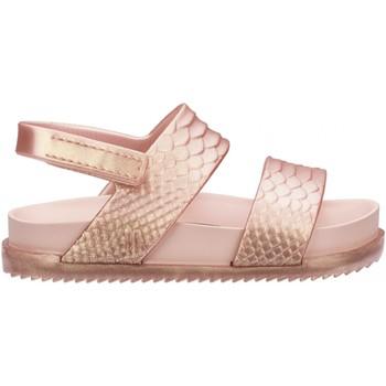 Chaussures Fille Sandales et Nu-pieds Mini Melissa Sandales bébé uni Cosmic Rose