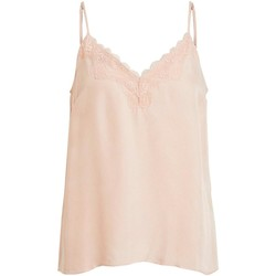 Vêtements Femme Chemises / Chemisiers Vila VIKALIA SINGLET Rose