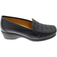 Chaussures Femme Mocassins Calzaturificio Loren LOK4002bl blu